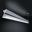 TZ-X LED, 3000 K, DIM DALI, 4,8 кг, aluminium anodised, with satinised diffuser on bottom